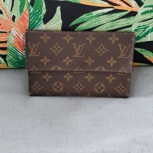 Vintage Louis Vuitton large wallet